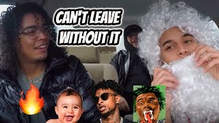 21 Savage x Gunna x Lil Baby - can't leave without it [REACTION REVIEW]