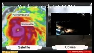 Live: Hurricane Patrica slams into Mexico