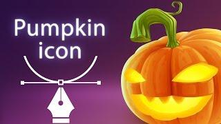 Pumpkin jack icon