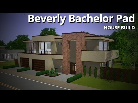 The Sims 3 House Building - Beverly Bachelor Pad (Base Game)