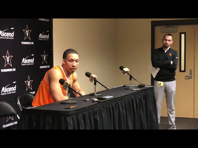 Tennessee Vols Forward Grant Williams Postgame Interview — 1/23/19