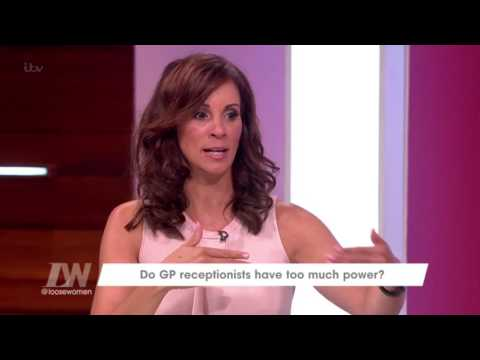 Would You Tell Your GP Receptionist What's Wrong? | Loose Women