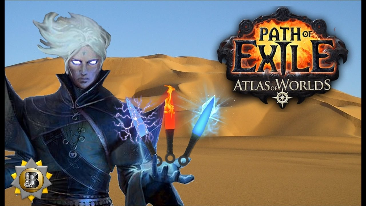 Elemental Ethereal Knives Build  Inquisitor Templar  Path Of Exile