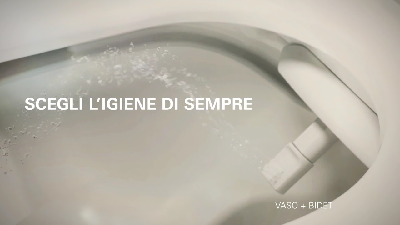 Grohe sensia arena l 39 innovativo vaso con bidet integrato for Wc bidet integrato