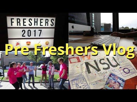 Pre-Freshers Week Vlog - Northumbria Uni