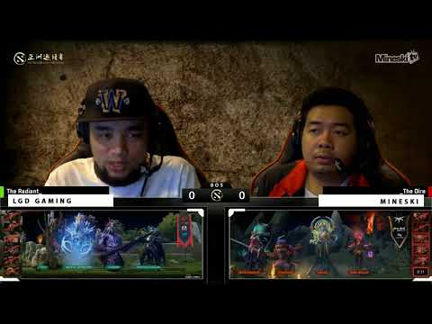 Mineski vs LGD   Best of 5   Game 1   Dota 2 Asia Championship Grand Finals