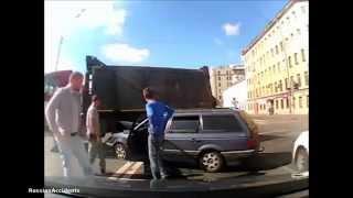 Подборка ДТП и Аварии на видеорегистратор, lng   12