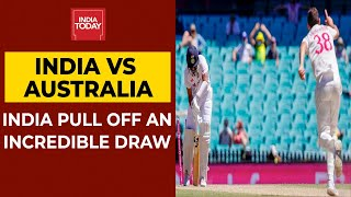 <b>India Vs Australia</b>, 3rd Test Day 5