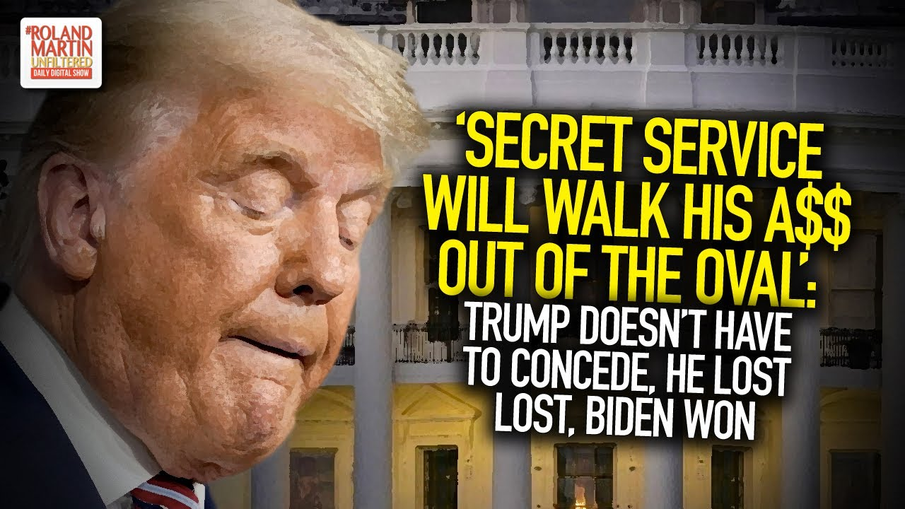 Secret Service Will Walk His A$$ Out Of The Oval