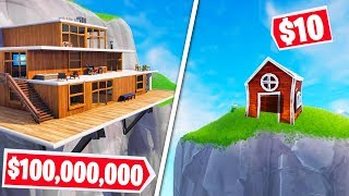 FORTNITE BUILD Your Dream HOUSE CHALLENGE! (Fortnite Creative Mode)