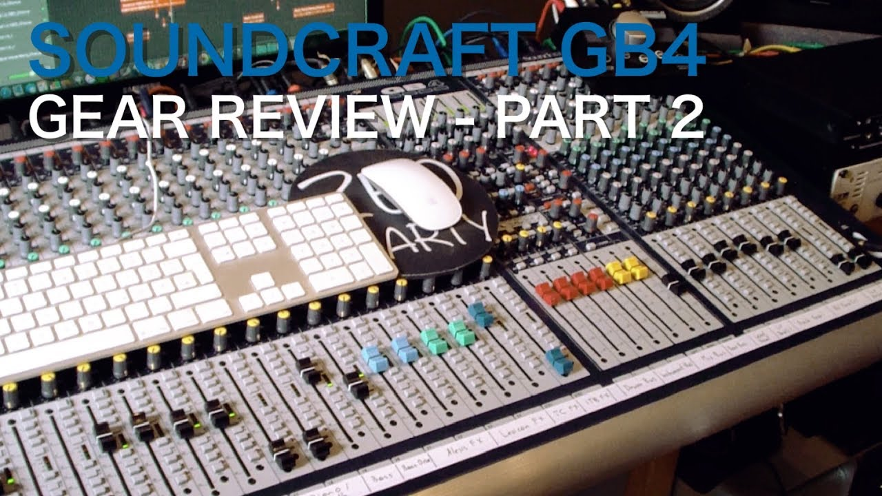 Soundcraft GB4 32 Channel [Part 2] | Gear Review