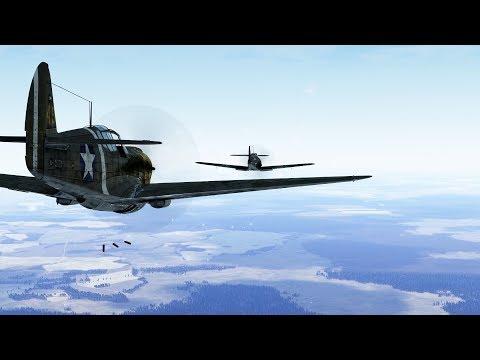 IL-2 Bos: Pure P-40 Power