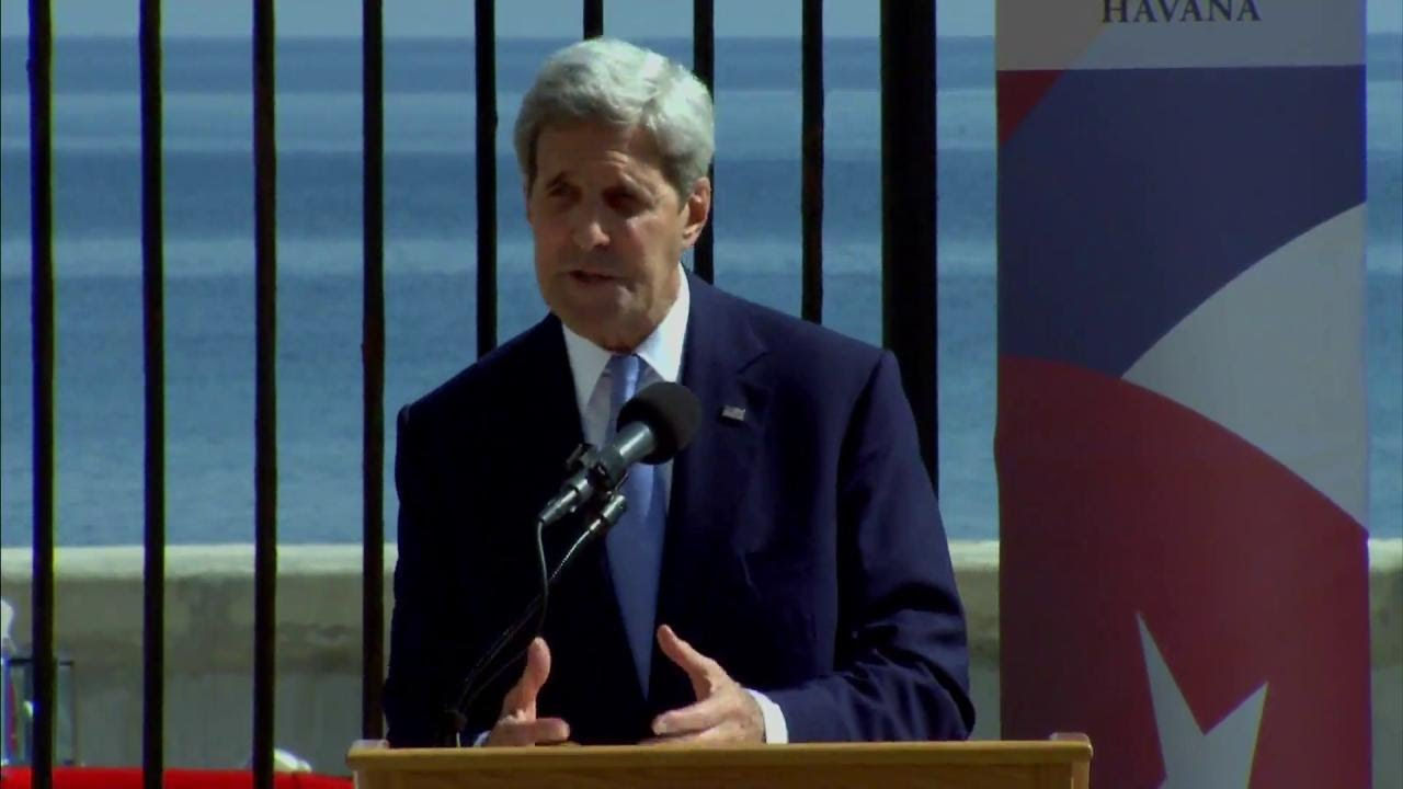 Secretary Kerry's Remarks in Havana, Cuba