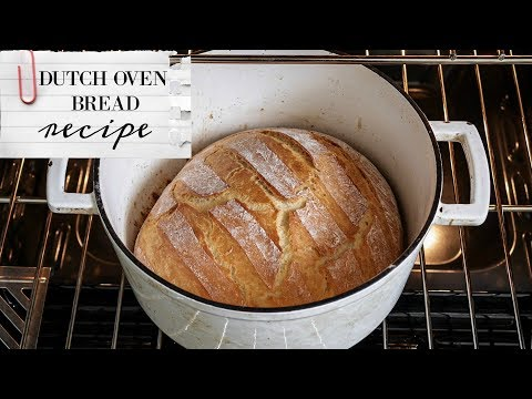 Homemade Dutch Oven Bread: BREAD FOR BEGINNERS