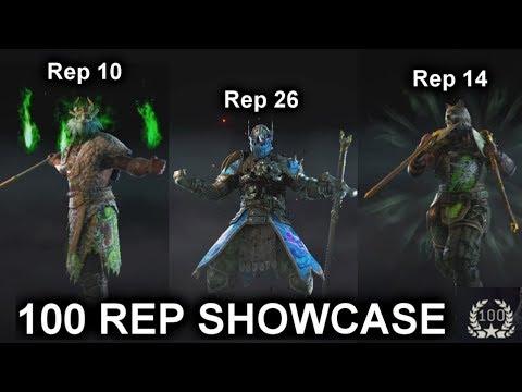 REPUTATION 100 | Hero Showcase [For Honor]