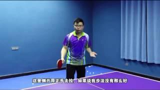 《全民解答》第75集:中路急长球不用怕 乒乓球教学视频