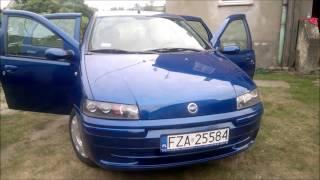 FIAT PUNTO II - 2001 rok, wspomaganie CITY, elektryczne szyby, poj. 1200cm3, przebieg 170tyś.
