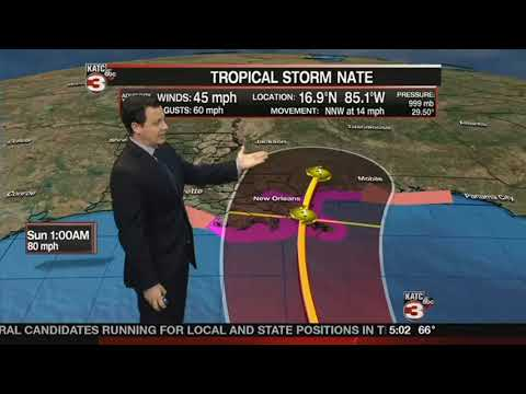 Daniel's Friday 5 a.m. Tropical Weather Update
