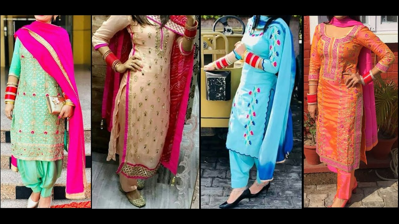 Suits For Newly Married Bride Latest Punjabi Bridal Suit Bridal Suit 2019 2020 Youtube