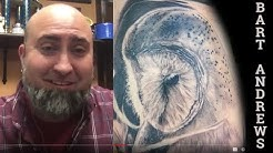 Bart Andrews on NC tattoo history, his FL tattoo studio & convention - artist interview clip 2019