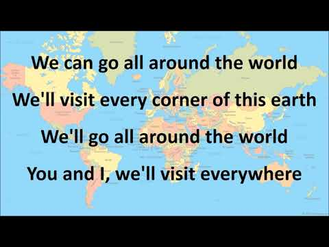 Tour the World with Lyrics