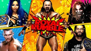 WWE ROYAL RUMBLE 2021 FULL SHOW LIVE STREAM FAN REACTIONS PRIZE GIVEAWAY