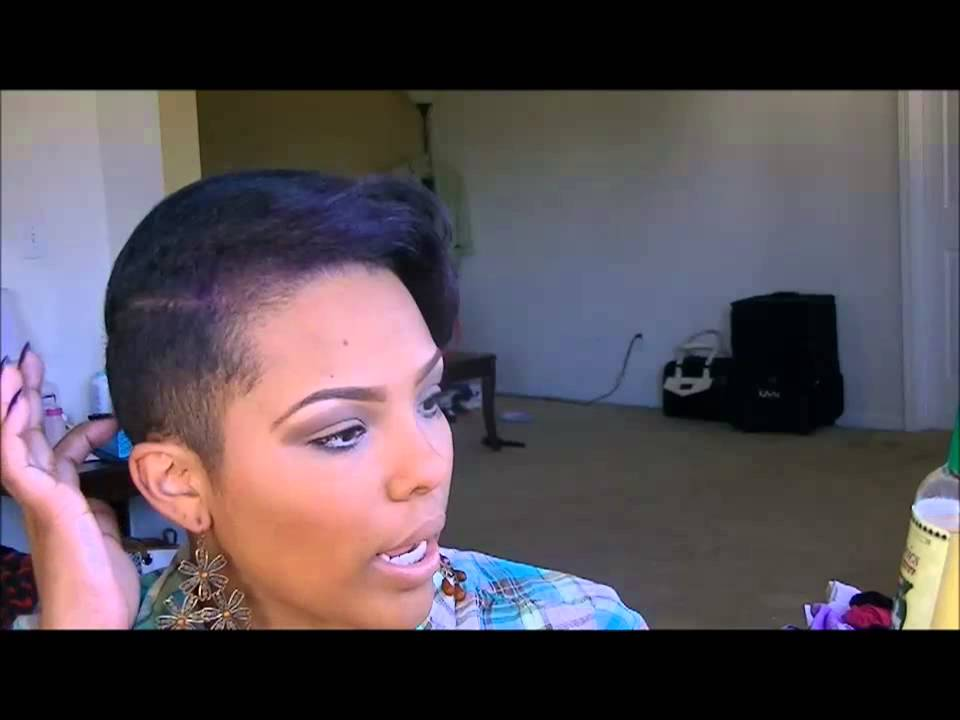 Hair Talk: Upkeep on short hair (shaved sides) - YouTube