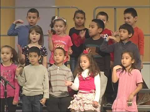 Capuano Early Childhood Center Kindergarten Winter Concert 2016