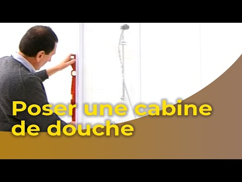 La Pose DUne Cabine De Douche  Youtube