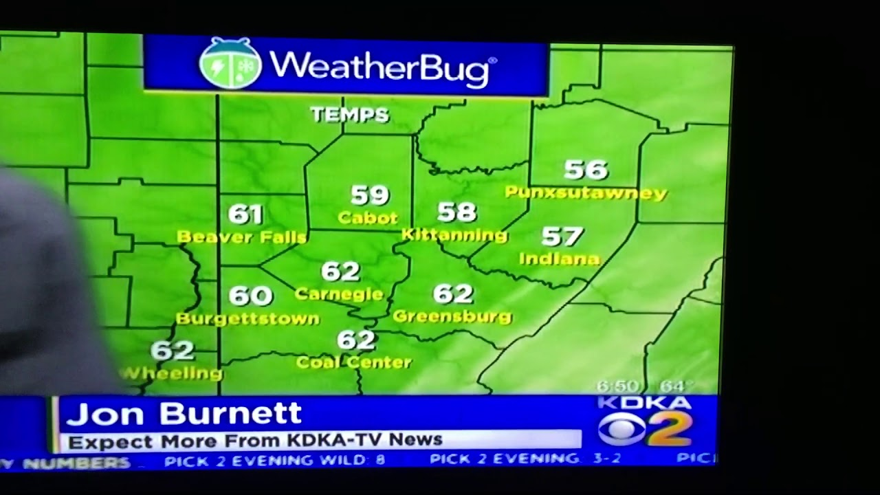 KDKA weatherman caught eating