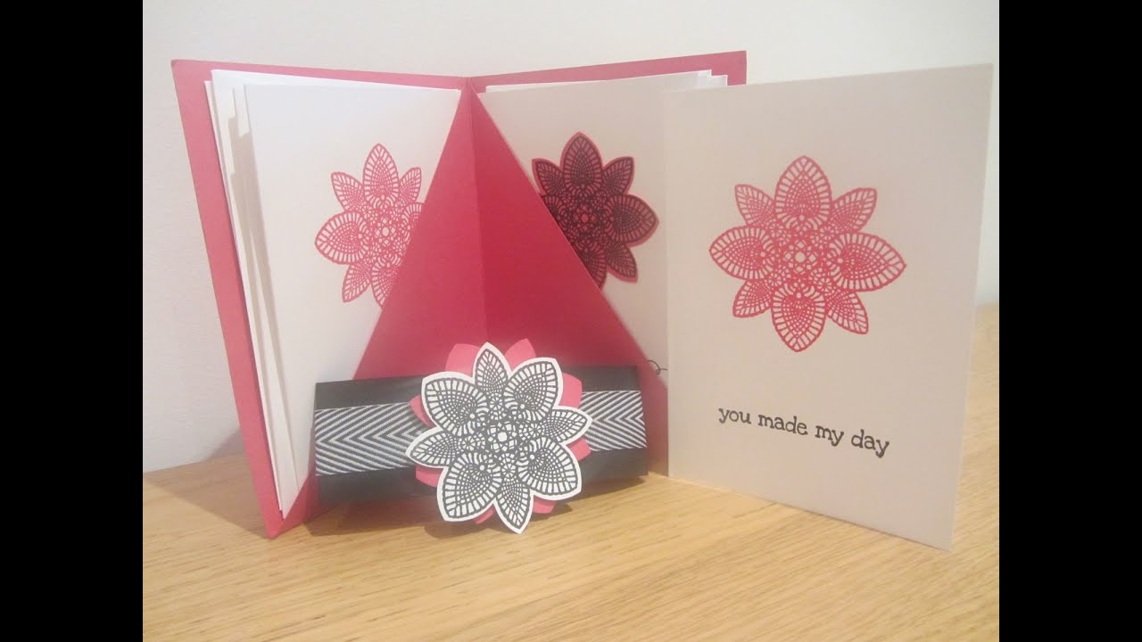 Hand made note card gift set with Stampin\' Up Petal Potpourri - YouTube