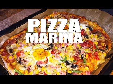 RECEPT: DOMAĆA PICA 'MARINA' (KAKO SE SPREMA PIZZA) sa pripremom i sastojcima