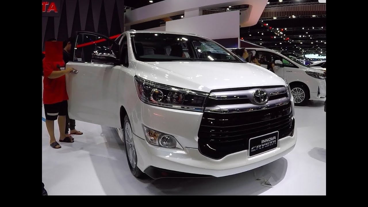 All New Toyota Kijang Innova 2019 Jual Velg Grand Veloz 2018 Mpv Crysta Youtube
