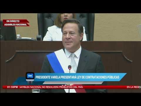 Informe de 3 años de gestión del Presidente Juan Carlos Varela