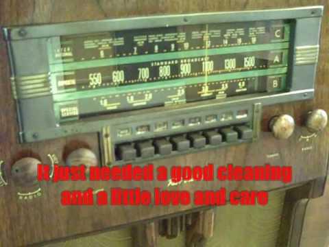 K60 RCA Victor Radio Console Tour
