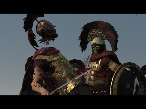 Rome 2 Total War Lets Compare Units in Battle # 103 Disciples of Ares vs Royal Companion Guard