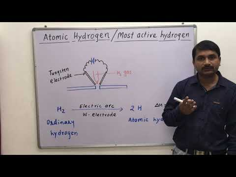 Preparation of Atomic Hydrogen