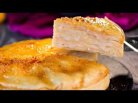gâteau-de-crêpes---le-plus-délicat-et-aromatique-gâteau-jamais-goûté-!-|-savoureux.tv