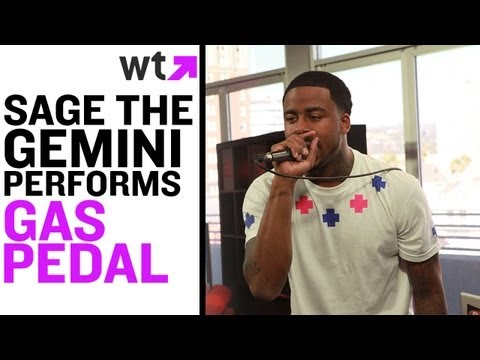 Sage The Gemini Performs 'Gas Pedal' | LIVE