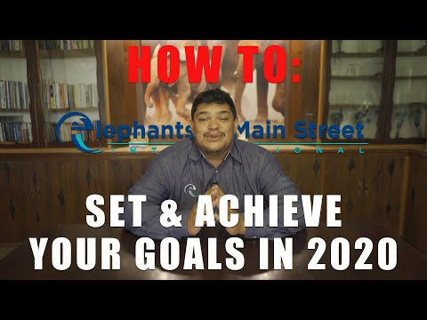 How To Set and Achieve Your Goals in 2020