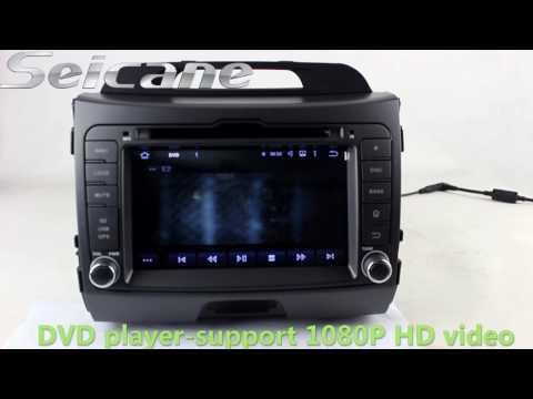hd android kia sportage radio bluetooth dvd touch hd android 5 1 1 2010 2013 kia sportage radio bluetooth dvd touch screen support 3g wifi