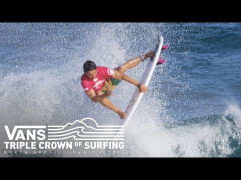 Hawaiian Pro 2017: Day 2 Highlights  Vans Triple Crown of Surfing  VANS
