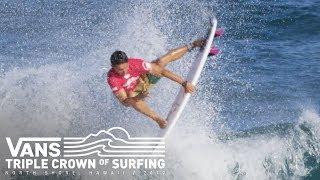 Hawaiian Pro : Jorgann Couzinet et Maxime Huscenot foncent au 3e tour
