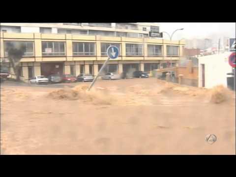Inundacion en Algeciras - YouTube