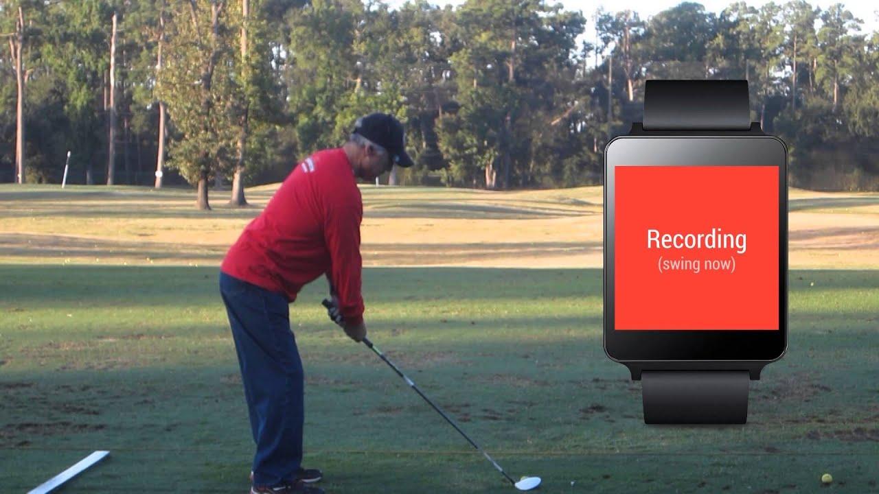 TrackMyGolf Golf Swing Analyzer for Android Wear