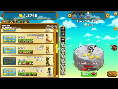 Clicker Heroes: I'm Rich   Cool Math Games