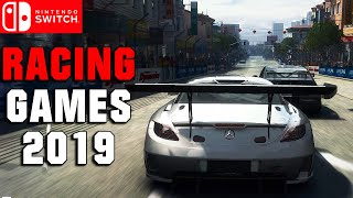 Top 9 Upcoming Racing Games On Nintendo Switch In 2019 !