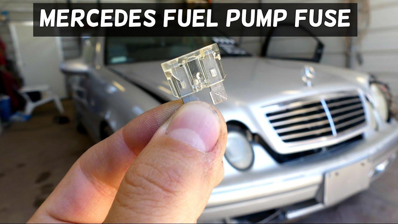 mercedes clk w208 fuel pump fuse clk200 clk230 clk 320 clk430 youtube 2002 mercedes c230 kompressor fuse diagram mercedes clk500 fuse box diagram [ 1280 x 720 Pixel ]