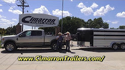2017 Ford F250 at Cimarron horse trailer factory