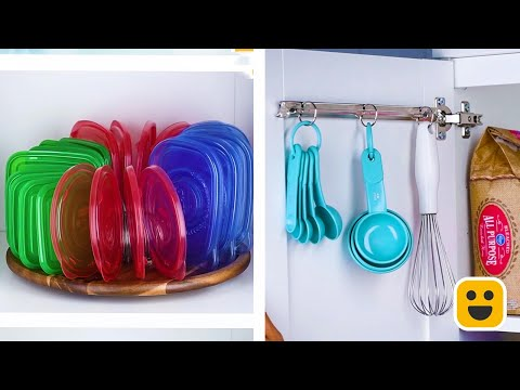 Creative Ways to Organize Your Kitchen! | DIY Organization Hacks by Blossom